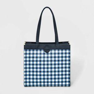 Boxy Tote Handbag - A New Day - Navy